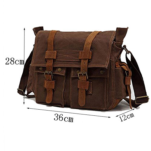 Messenger Yxlong Militarygreen Shoulder Men's Bag American Casual European Canvas And Style 1q1rx8
