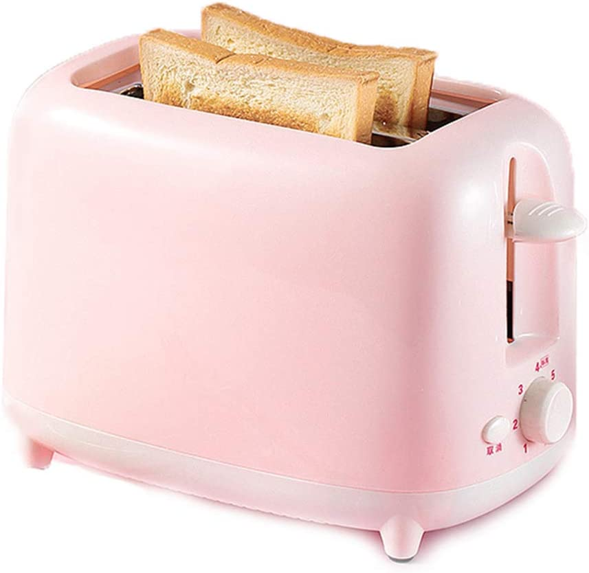 2-Slice Extra Wide Slot Toaster, 7 Shade Settings Extra-Wide Slot Toaster, for Bread, Bagels, Cookies, Pizza, Paninis And More Pink