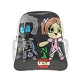 lintchi PopularMMOS White Multi-pocket Backpack Bag