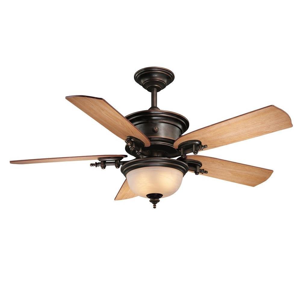 Brushed Nickel Ceiling Fan Blade Arms Harbor Breeze Blades