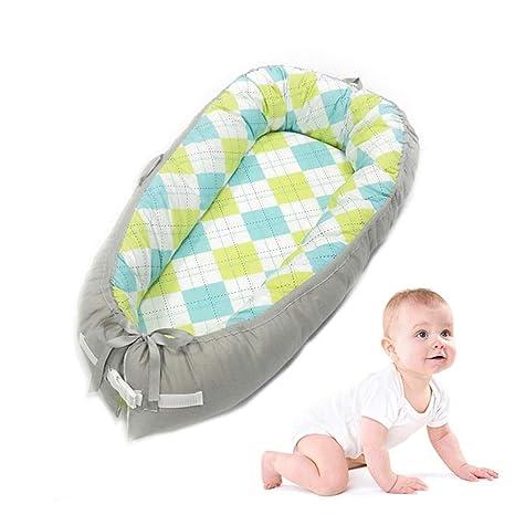 Titcch Nido Para Bebé De,Cama Nido De Bebé Recién Nacido Para Acurrucarse, Reductor Protector De Cuna Cama De Viaje, Para Dormir(0-2 Años)