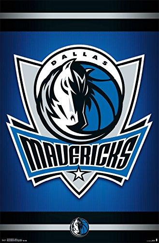 Trends International Dallas Mavericks Logo Wall Poster 22.375