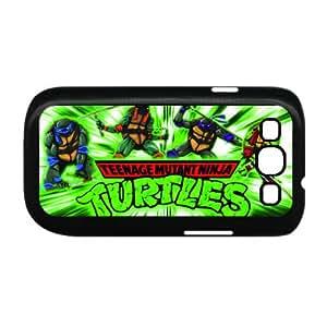 Nickelodeon Teenage Mutant Ninja Turtles Case for Samsung Galaxy S3 I9300 Custom-Black AQ383324