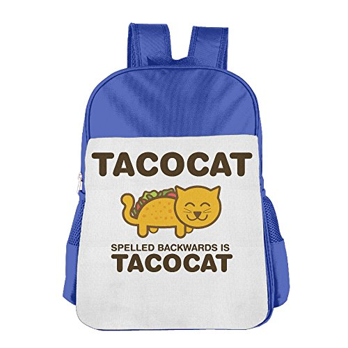 Price comparison product image Tacocat Spelled Backwards Is Tacocat Baby School Backpacks Toddler School Bags