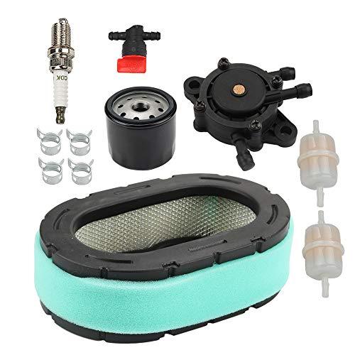 Allong KT735 Air Filter Oil Fuel Filter Pump Spark Plug Tune-Up Kit for Kohler KT610 KT620 KT715 KT725 KT730 KT740 KT745 19HP-26HP 7000 Series Engine 32 083 09 32 883 09-S1 - Oil Pump Kit