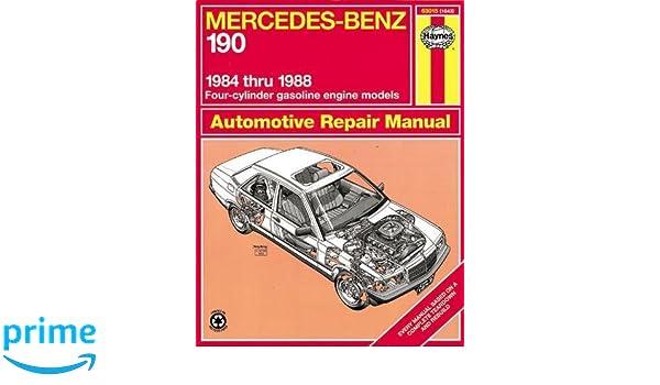 Mercedes-Benz 190, 1984-1988 Haynes Automotive Repair Manuals: Amazon.es: John Haynes: Libros en idiomas extranjeros