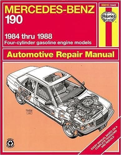 Mercedes benz 190 series 8488 haynes repair manuals haynes mercedes benz 190 series 8488 haynes repair manuals 1st edition fandeluxe Gallery