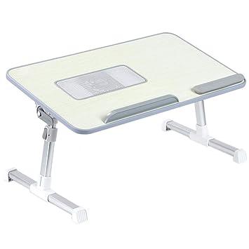 Peng sounded Ajustable Mesa Plegable para Ordenador Soporte para Mesa Plegable portátil, Soporte para computadora portátil, Bandeja para Cama, ...