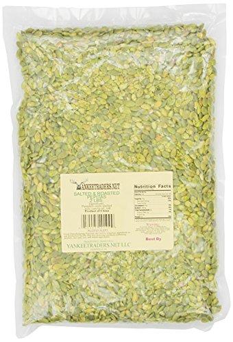 Make Salted Pumpkin Seeds (Yankee Traders Pepita/Pumpkin Seeds, Roasted and Salted, 2 Pound)
