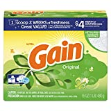 Gain PGC 27831 Original Scent Powder Laundry Detergent, 16 oz.
