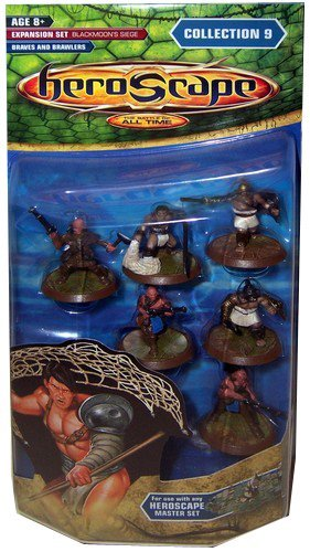 HEROSCAPE - Collection 9 IX - BRAVES AND BRAWLERS EXPANSION (Heroscape Collection)