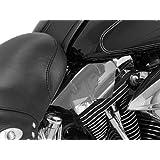 Kuryakyn 1316 AirMaster Reflective Smoke Saddle Shield