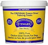 Stewart Freeze Dried Chicken Liver Dog Treat 11.5O For Sale