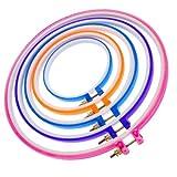 Udhayam Plastic Embroidery Hoops Rings or Frame