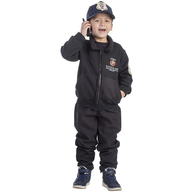 Amazon.com: Boys Hatzolah EMT Rescatadores Costume por ...
