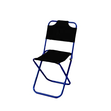 Silla de Camping portátil Marco ligero Taburete plegable de ...