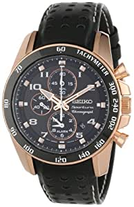 Reloj Seiko Sportura Snae80p1 Hombre Negro