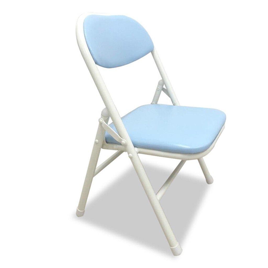 【お気に入り】 GzHスポーツ椅子折りたたみ椅子学生ポータブル小さな椅子背もたれ B07DCT9BHW ライトブルー B07DCT9BHW, イブキチョウ:bd599d55 --- cliente.opweb0005.servidorwebfacil.com