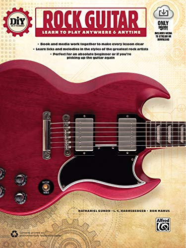 DiY (Do it Yourself) Rock Guitar: Learn to Play Anywhere & Anytime, Book & Online Video/Audio