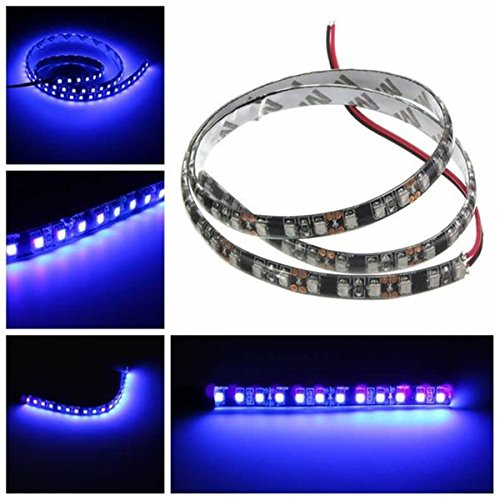 Price comparison product image Wigbow Purple LED Strip Light Lit, Waterproof 4x50CM 150 leds Purple Rope lights, Indoor Outdoor Lighting Rope, for Bedroom Bar Car Interior TV Backdrop Wall