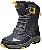 Jack Wolfskin Boys' Ride Texapore Snow Boot, Burly Yellow XT, 6.5 M US Big Kid