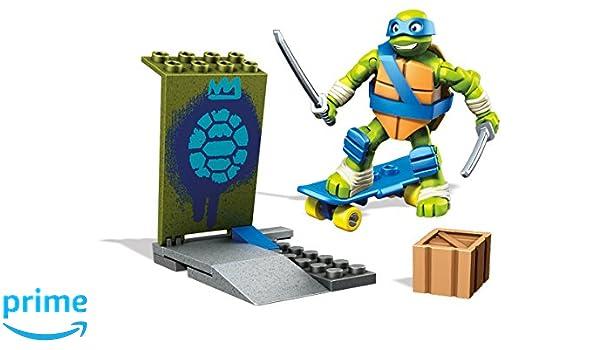 Mega DPF59 - Mega Bloks - Las Tortugas Ninja - Leo formación ...