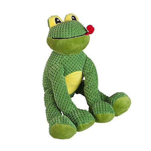 fabdog Floppy Frog Squeaky Dog Toy (Large) ()