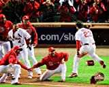 David Freese St. Louis Cardinals 2011 World Series Walk Off Home Run Celebration #4