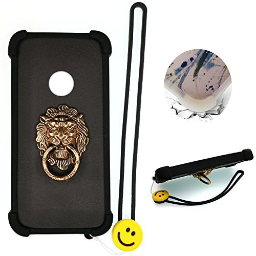 - Case for ZTE N818S QLink Wireless Case Silicone border + PC hard backplane Stand Cover SHI