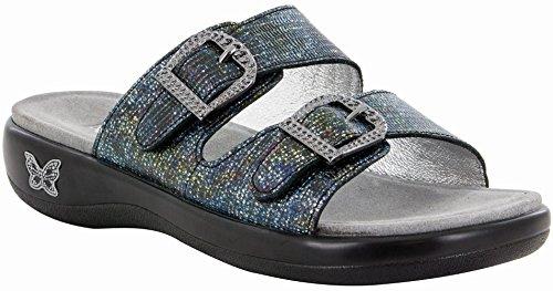 Alegria Mujeres, Jade Slide Sandals Glimmer Glam