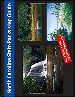 State Park Nc Map.North Carolina State Park Map Guide Friends Of State Parks