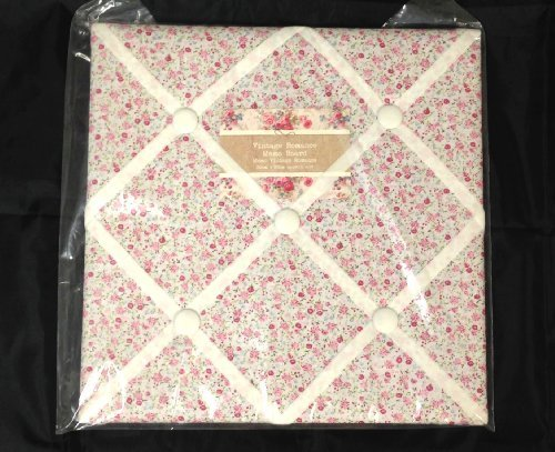 Ditsy Mini Flower Design Vintage Shabby Chic Floral Padded Notice Stunning Padded Memo Board