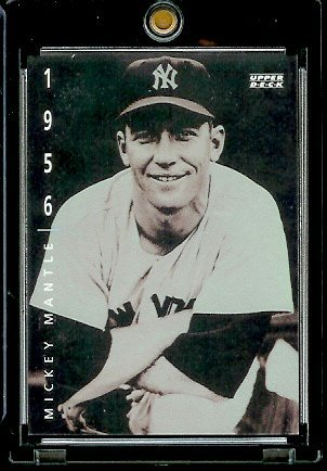 1994 Upper Deck The American Epic Baseball Card #63 Mickey Mantle ()