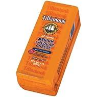 Tillamook Medium Cheddar Cheese 2lb Baby Loaf (Pack of 2)