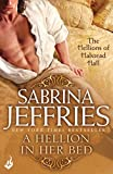 Front cover for the book A Hellion in Her Bed by Sabrina Jeffries
