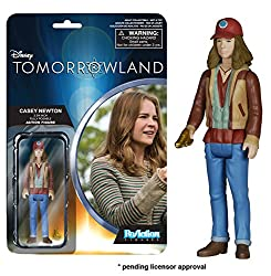 Funko Reaction: Tomorrowland - Casey Action Figure