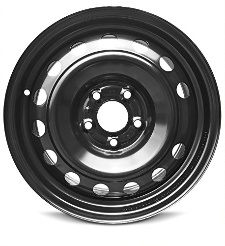 114.3 Replica Wheel (New Kia Soul (14-17) 16 Inch Steel OEM Replica Full-Size Replacement Black Wheel Rim 16x6.5 5x114.3)