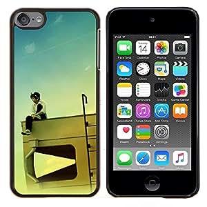Jordan Colourful Shop - Design RV Kid For Apple iPod Touch 6 6th Generation Personalizado negro cubierta de la caja de pl????stico