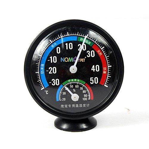 ZN Reptile Lézard Terrariu Cadran combiné Thermomètre hygromètre analogique