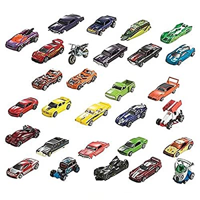 Hot Wheels 24-Car Random Assortment Party Pack 2014 and Newer: Toys & Games