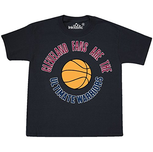 Inktastic - Cleveland Warriors Youth T-Shirt Youth Large (14-16) Black