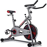 Cheap Merax Indoor Cycling Bike Cycle Trainer Exercise Bicycle (Gray&Red)