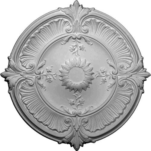 Acanthus Lamp (Ekena Millwork CM30AT 30 1/8-Inch OD Attica Acanthus Leaf Ceiling Medallion)