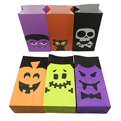 Aisamco 30 Pack Halloween Bags Trick or Treat