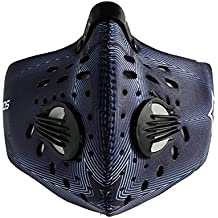 RockBros Cycling Anti-dust Half Face Mask with Filter Neoprene for Burning Man Festival (Blue)
