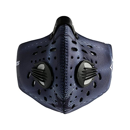 RockBros-Cycling-Anti-dust-Half-Face-Mask-with-Filter-Neoprene-2014-Blue