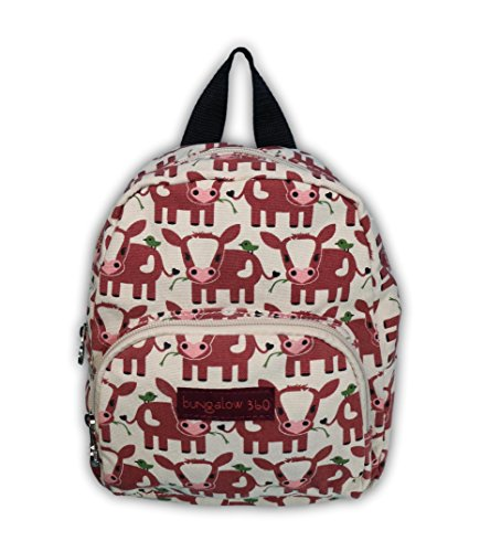 Bungalow 360 Kids Mini Backpack (Cow) by bungalow 360