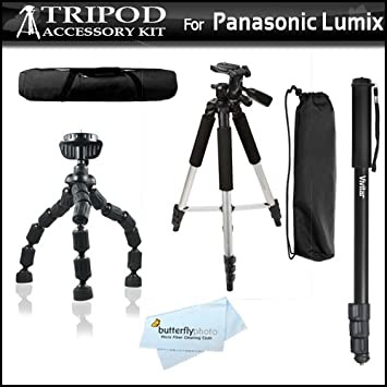 Professional Dual Handle Aluminum 67 Tripod Bubble Level for Panasonic Lumix DMC-GF1