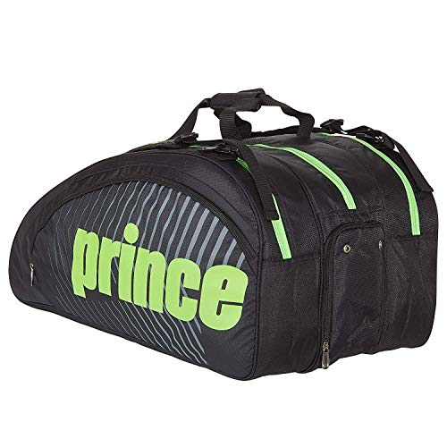 Prince Tour Challenger 9 Pack Racquet Bag Black/Green