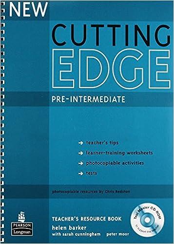 Workbook cutting worksheets : Cutting Edge Pre Inter Teacher Bk + CD, 2e: 9781405843492: Amazon ...